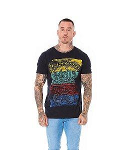Camiseta Algodão Slim Union Trade Preto