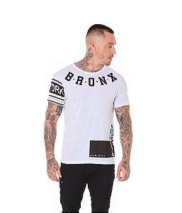 Camiseta Algodão Slim Bronx Branco