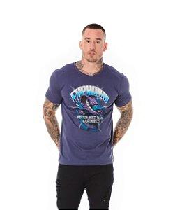 Camiseta Algodão Slim Cobra Euphoria Chumbo