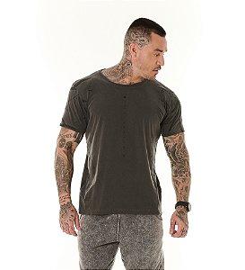 Camiseta Algodão Slim Estonada Full Be Diferent Preto