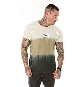 Camiseta Algodão Slim Tie Dye Imersão True Verde