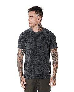 Camiseta Algodão Slim Stonada Caveira
