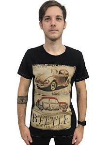 Camiseta Algodão Carros Beetle