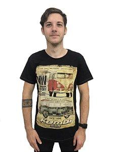 Camiseta Algodão Carros Kombi