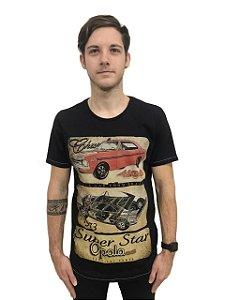 Camiseta Algodão Carros Opala