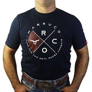 Camiseta Marruco Sertanejo Masculino ( cor Azul Marinho)