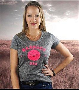 T-shirt Marruco feminina