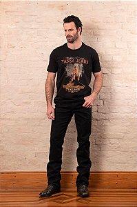 Camiseta Tassa Jeans Preto