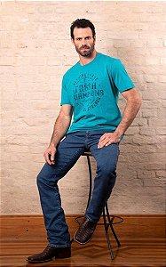 Camiseta Tassa Jeans Turquesa
