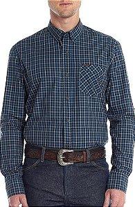 Camisa Tassa Xadrez Azul - Exclusiva