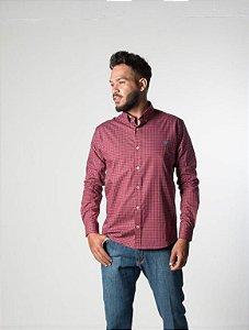 Camisa Xadrez TXC - Bordo