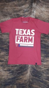 Camiseta Maculina Texas Farm