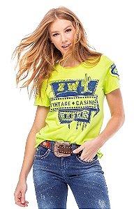 T- Shirt Feminina Zenz Western