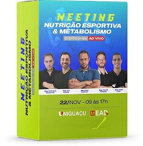 Meeting de Nutrição Esportiva & Metabolismo