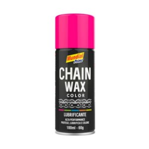 Lubrificante Corrente Rosa Chain Wax Mundial Prime 100ml