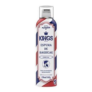 Espuma De Barbear Spray Kings Especial My Health 150ml
