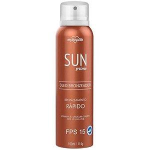 Óleo Bronzeador Sun Prime Spray My Health 150ml