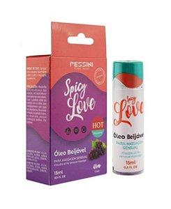 SPICY LOVE HOT UVA 15ML - PESSINI