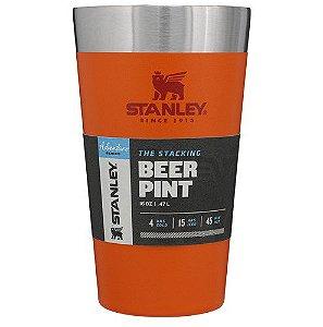 Copo Térmico Stanley para Cerveja Laranja Orange 473ml