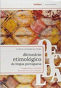 Livro - Dicionário Etimológico da Língua Portuguesa