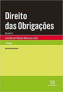 DIREITO DAS OBRIGACOES - VOL III - 13 ED. 2019
