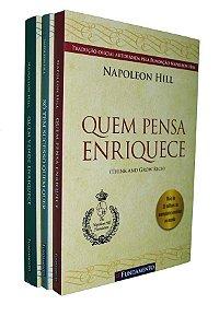 Napoleon Hill - Kit (Quem pensa enriquece, Quem vende enriquece e Só tem sucesso quem quer)