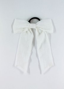 Scrunchie Laço Lara - Off white