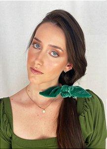 Scrunchie - Velvet Verde