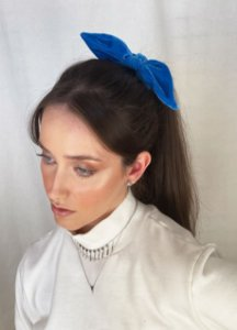 Scrunchie - Velvet Azul