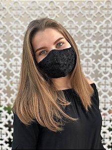 Máscara Laise Preta