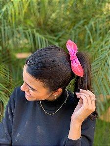 Scrunchie Tie Dye - Pink Lemonade