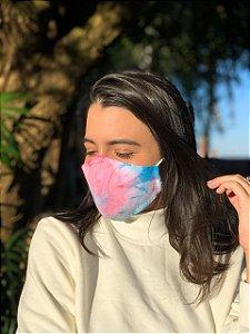 Máscara Tie Dye - Galaxy - Bico