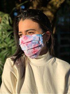 Máscara Tie Dye - Galaxy - Pregas