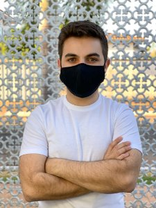 Máscara Antiviral Masc - Preta
