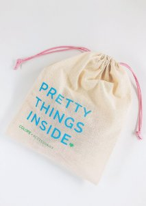 Saco Personalizado - Pretty Things Inside