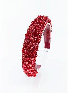 Tiara Catarina - Vermelha (Branca de Neve)