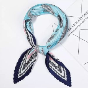 Lenço Sophia - Tons de Azul