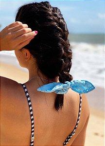 Scrunchie - Laise Azul Claro