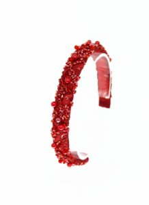Tiara Catarina - Fina Vermelha