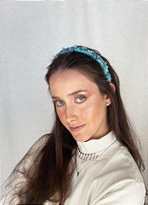 Tiara Catarina - Fina Azul Turquesa