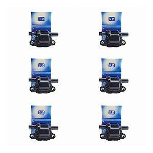 Kit 6x Bobinas Ignição Onix / Prisma / Cobalt - 12611424
