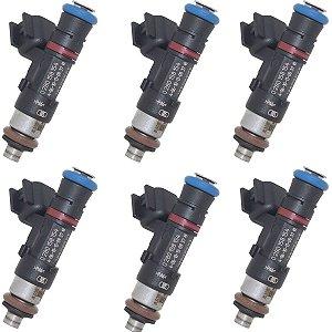 06 X Bico Injetor Captiva Omega 3.6 V6 0280158154