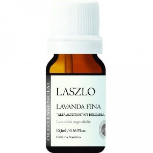 Óleo Essencial de Lavanda-Fina 10 ml (Búlgara) - Laszlo