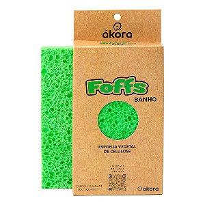 Esponja Vegetal de Celulose Banho - 100% Biodegradável - Ákora