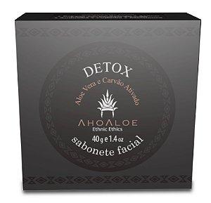 Sabonete Facial Detox 40 g - Natural e Vegano