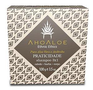 Shampoo Sólido 3x1 PRATICIDADE 100 g