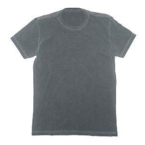 Camiseta Gola C Algodão Sustentável - Grafite