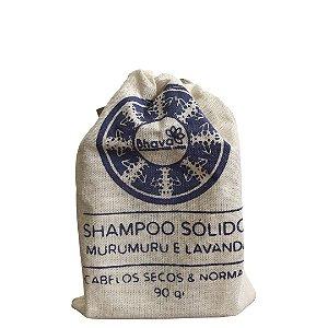 Shampoo Sólido Cabelos Secos e Normais 90 g