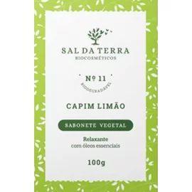 Sabonete Vegetal Capim Limão 100g - Natural e Vegano - Sal da Terra