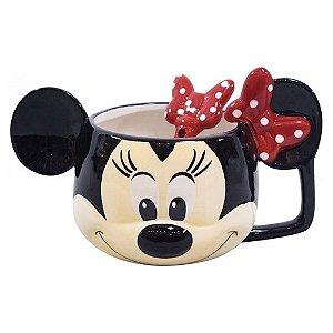 Caneca De Porcelana Minnie Mouse